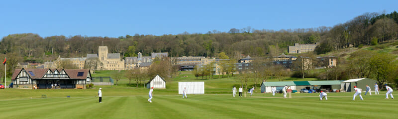 The wonderful setting at Ampleforth College