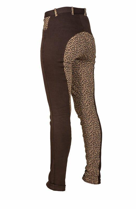 leopard skin breeches - Tagg Equestrian