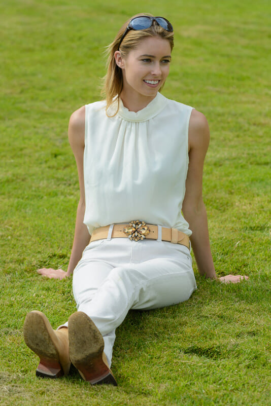 model amy neville - Peachy Belts