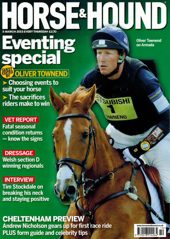 Oliver Townend at Badminton