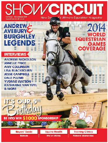 show circuit cover andrew nicholson