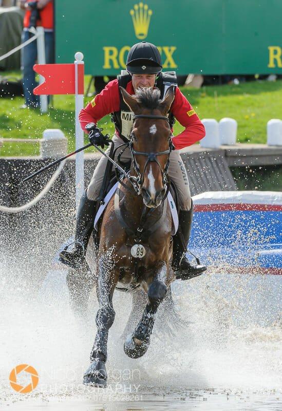 andrew heffernan and boleybawn ace - Mitsubishi Motors Badminton Horse Trials 2015 - Cross Country