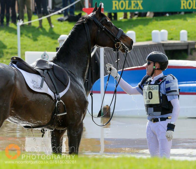 andrew hoy and rutherglen - Mitsubishi Motors Badminton Horse Trials 2015 - Cross Country