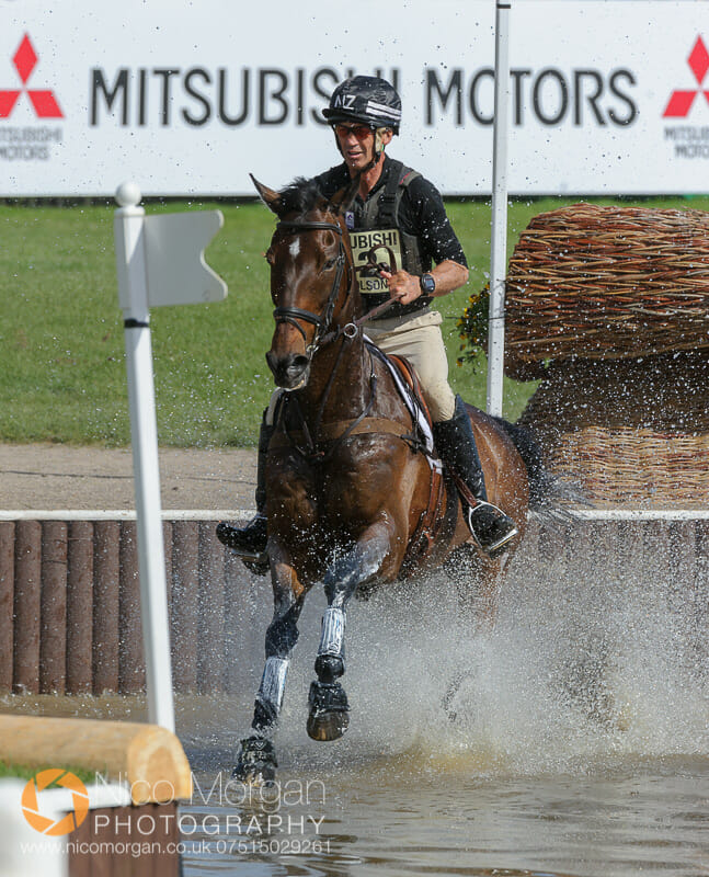 andrew nicholson and calico joe - Mitsubishi Motors Badminton Horse Trials 2015 - Cross Country