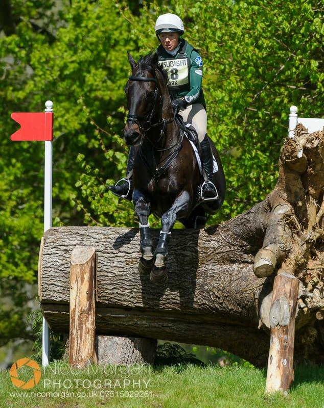 aoife clark and vaguely north - Mitsubishi Motors Badminton Horse Trials 2015 - Cross Country