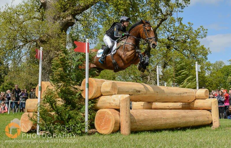 ben hobday mulrys error log pile badminton horse trials - Mitsubishi Motors Badminton Horse Trials 2015 - Cross Country