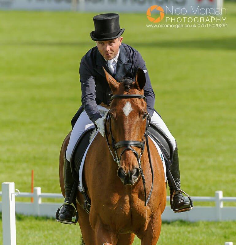 ben hobday mulrys error - Badminton Horse Trials - Nicholson and Nereo lead after dressage.