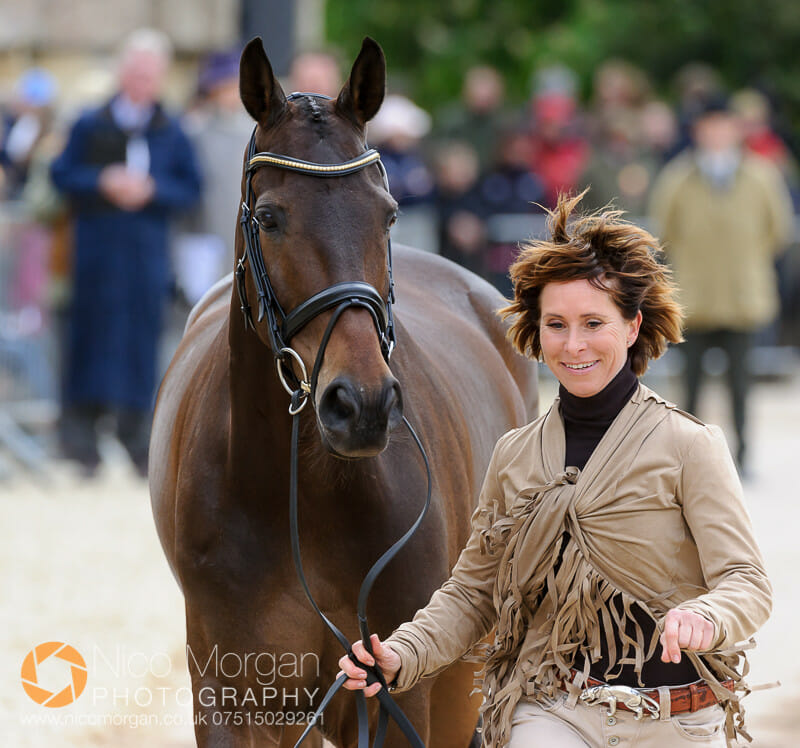 bettina hoy and designer 10 - Badminton 2015 - The first inspection