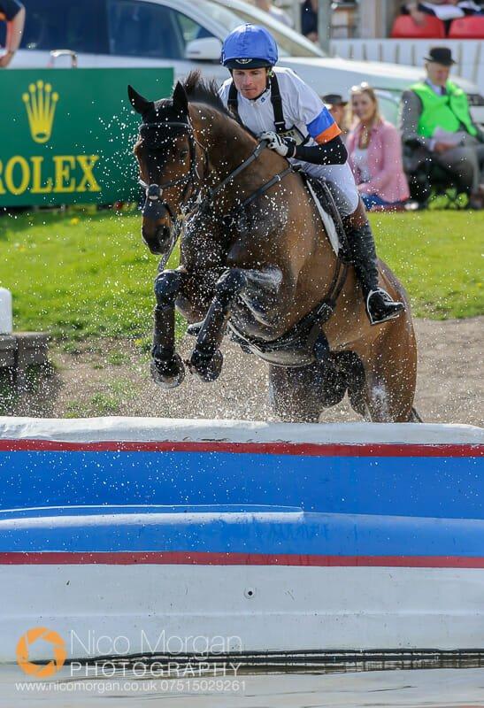 francis whittington and hasty imp - Mitsubishi Motors Badminton Horse Trials 2015 - Cross Country