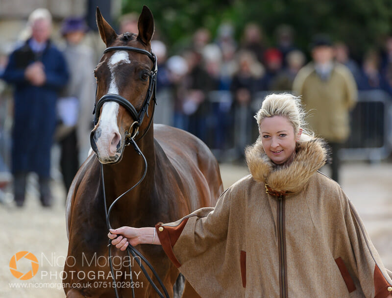 georgie spence and wii limbo - Badminton 2015 - The first inspection