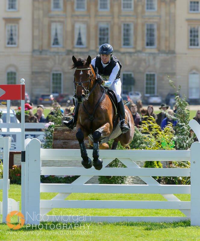 ingrid klimke and horseware hale bob - Mitsubishi Motors Badminton Horse Trials 2015 - Cross Country
