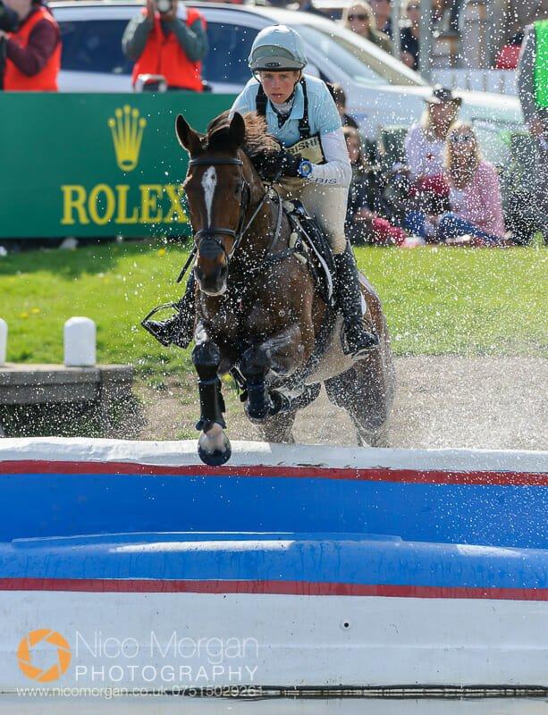 izzy taylor and kbis briarlands matilda - Mitsubishi Motors Badminton Horse Trials 2015 - Cross Country