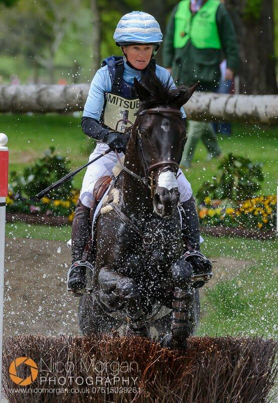 jonelle price and classic moet - Mitsubishi Motors Badminton Horse Trials 2015 - Cross Country