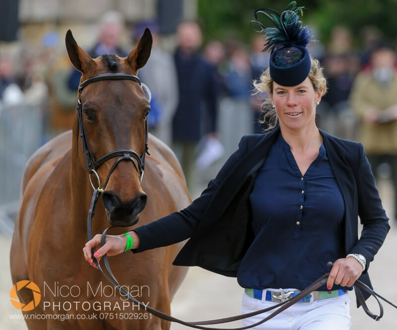 lucy jackson and willy do - Badminton 2015 - The first inspection