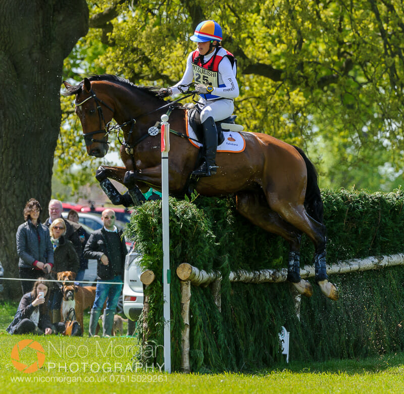 merel blom and rumour has it - Mitsubishi Motors Badminton Horse Trials 2015 - Cross Country