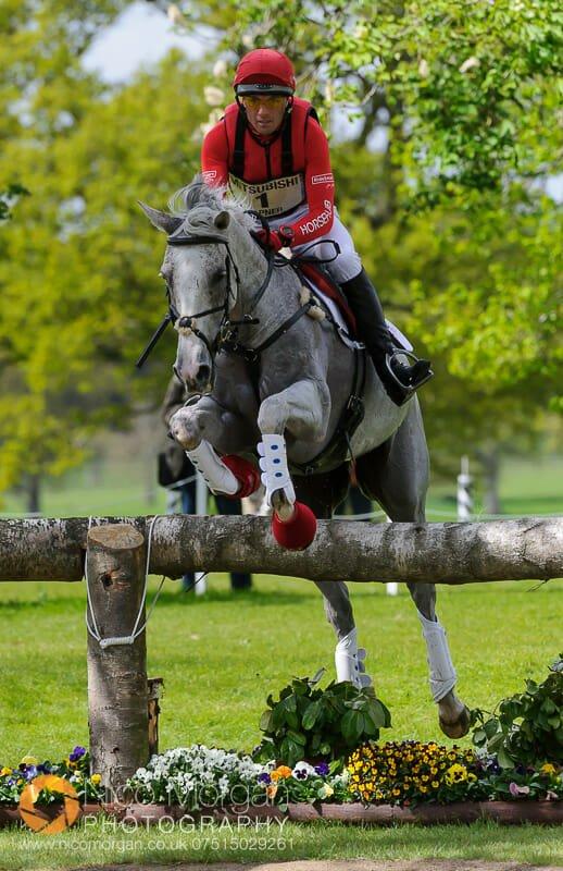 paul tapner and kilronan - Mitsubishi Motors Badminton Horse Trials 2015 - Cross Country