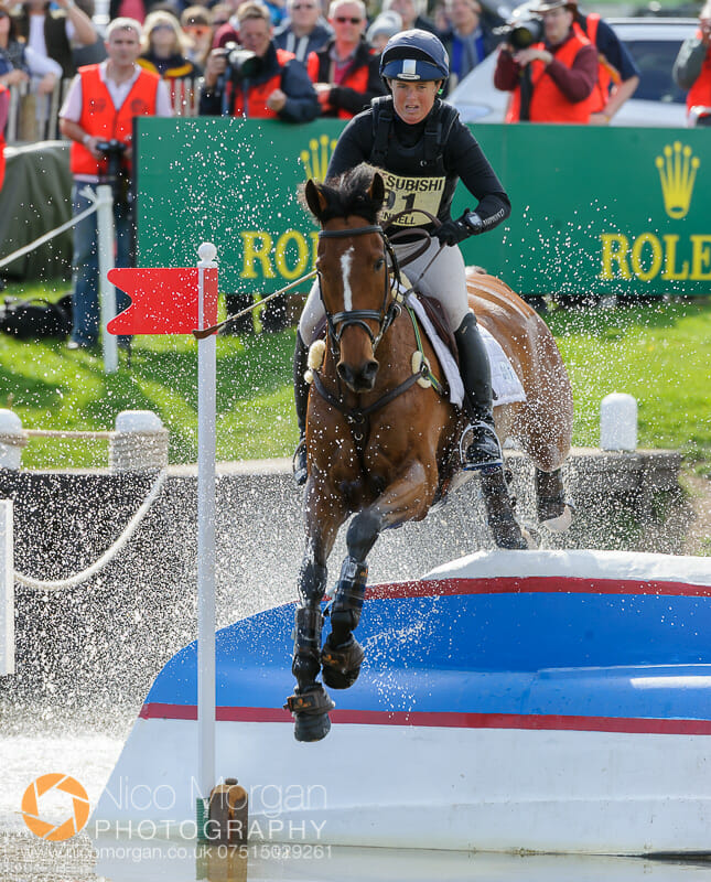 pippa funnell and second supreme - Mitsubishi Motors Badminton Horse Trials 2015 - Cross Country