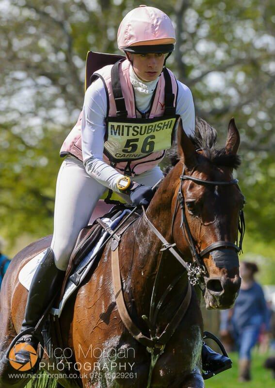rose carnegie and landine - Mitsubishi Motors Badminton Horse Trials 2015 - Cross Country