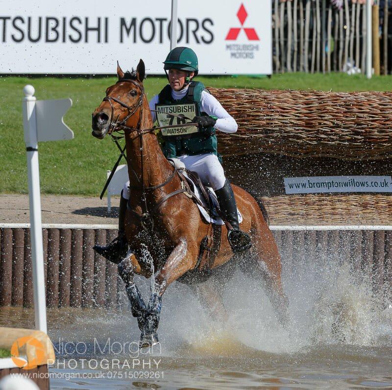 sam watson and horseware bushman badminton horse trials - Mitsubishi Motors Badminton Horse Trials 2015 - Cross Country