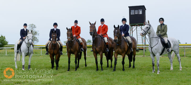 The Hunt Staff and outriders