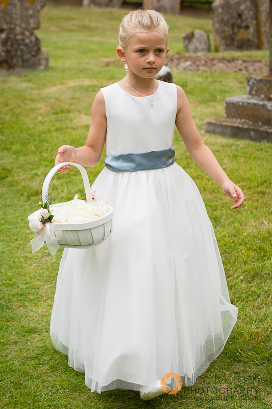 bridesmaid, flower girl