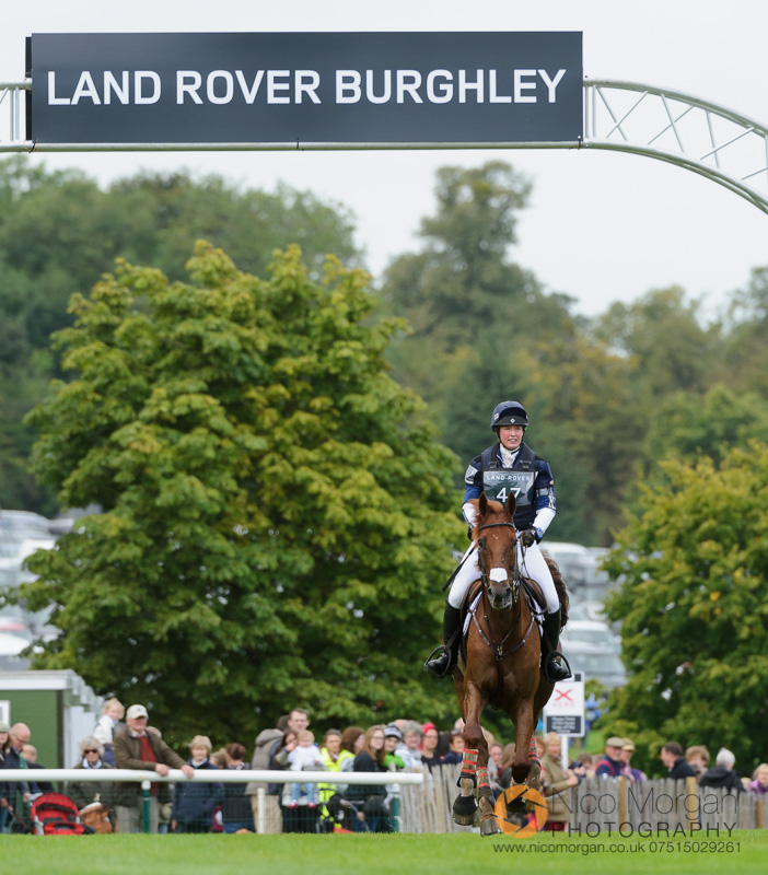 emily llewellyn and greenlawn sky high burghley 2015 - Land Rover
