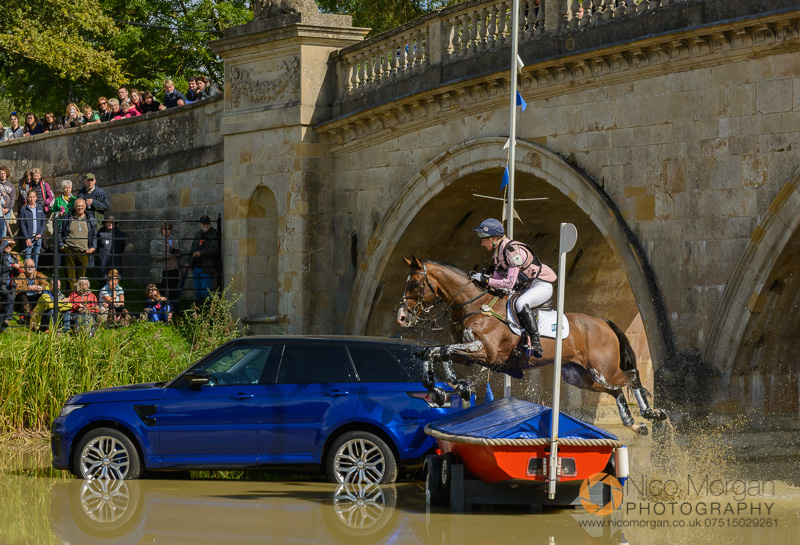 georgie spence and wii limbo burghley 2015 - Land Rover