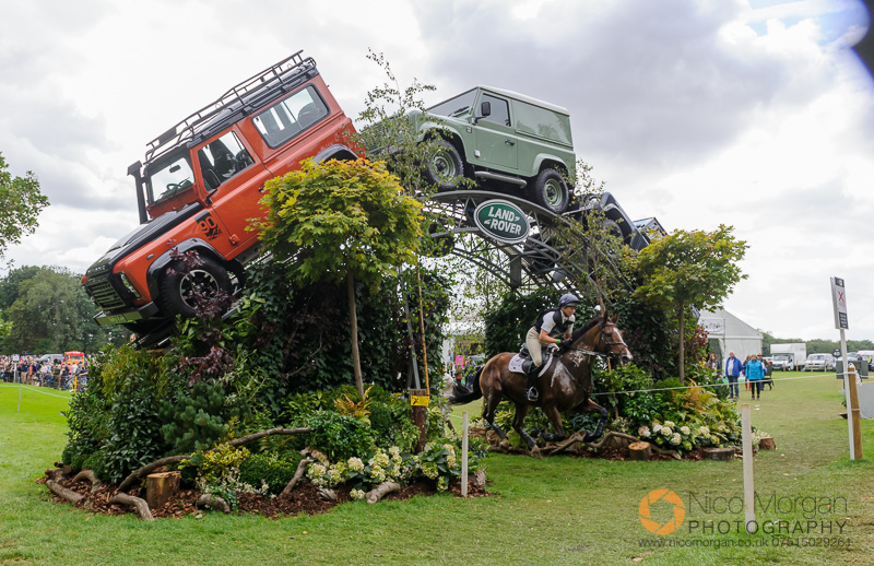 jeanette brakewell and lets dance burghley 2015 - Land Rover
