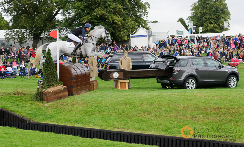 jock paget and shady grey burghley 2015 - Land Rover