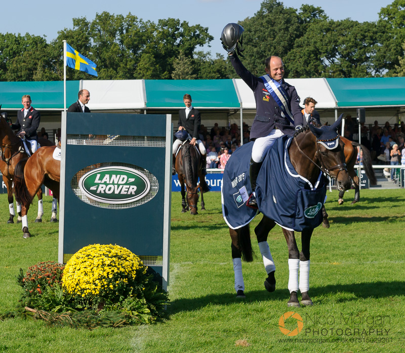 michael jung burghley 2015 - Land Rover