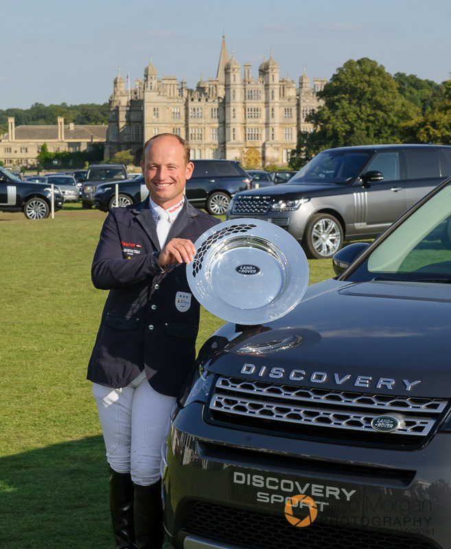 michael jung burghley winner 2015 - Land Rover