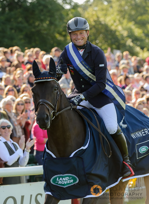 michael jung winner burghley 2015 - Land Rover