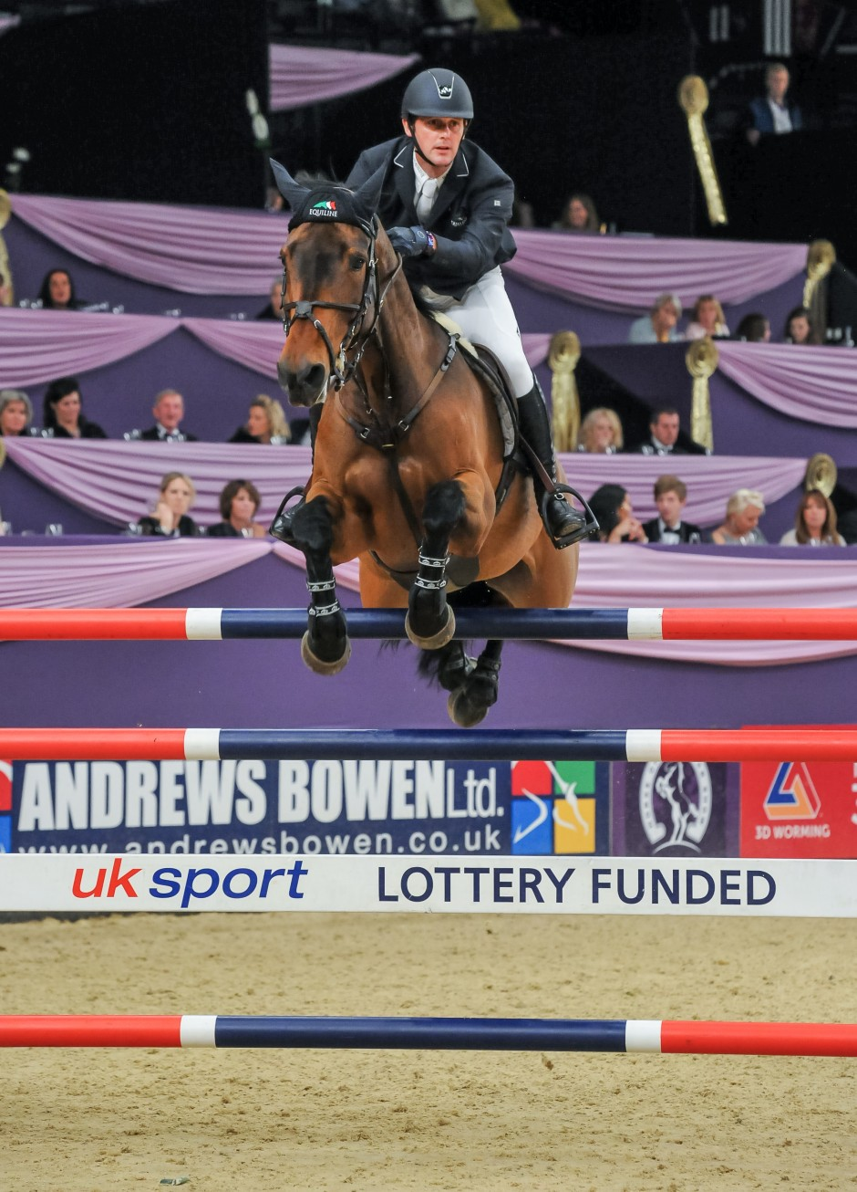 Billy Twomey and Diaghilev - Leading Show Jumper of the year