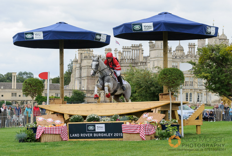 paul tapner and kilronan burghley 2015 - Land Rover