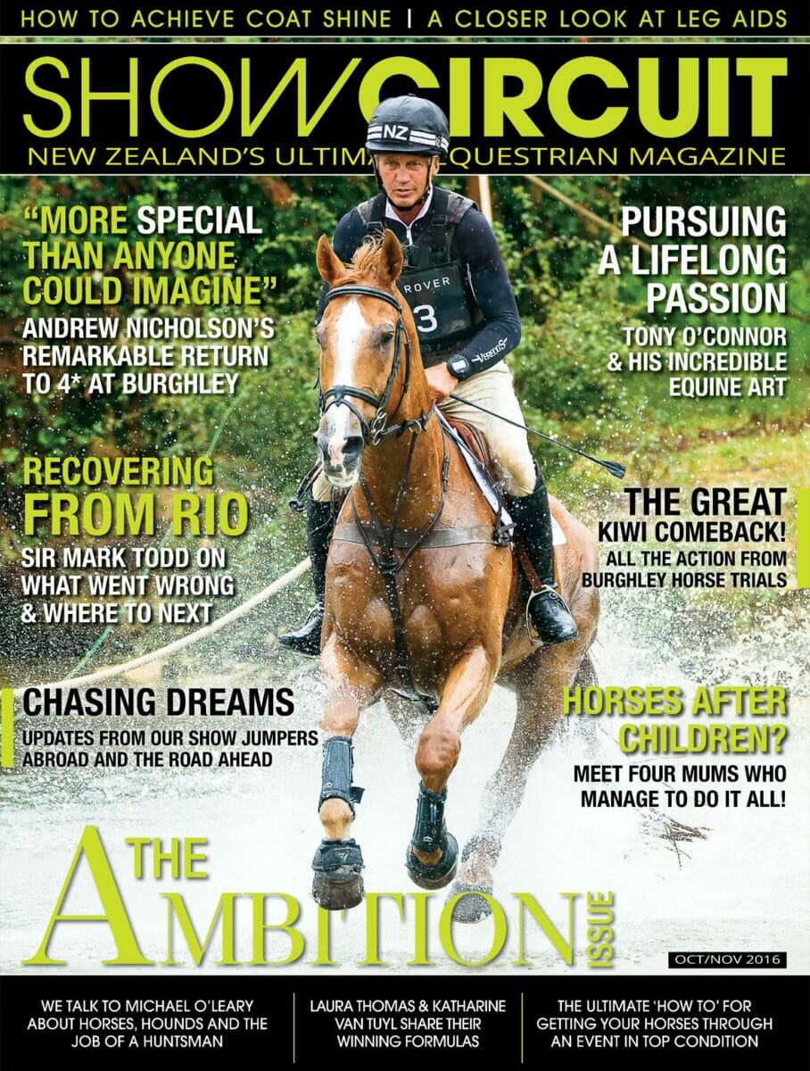 show circuit magazine cover andrew nicholson nereo - Show Circuit (NZ)