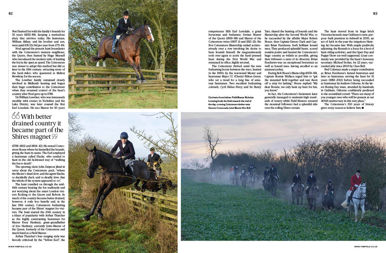 the field cottesmore hunt - The Field