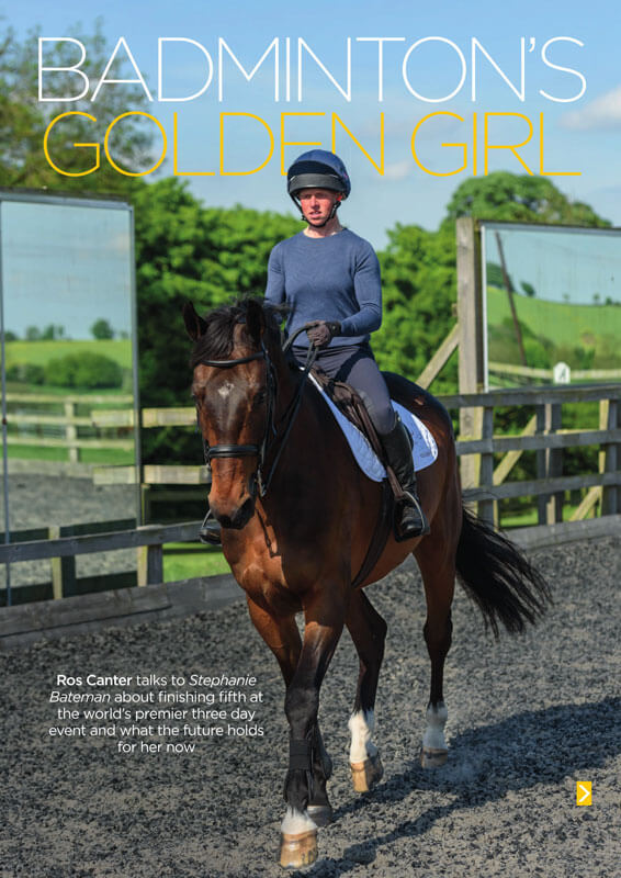 british eventing life cover summer 2017 rosalind canter golden girl - British Eventing Life Magazine
