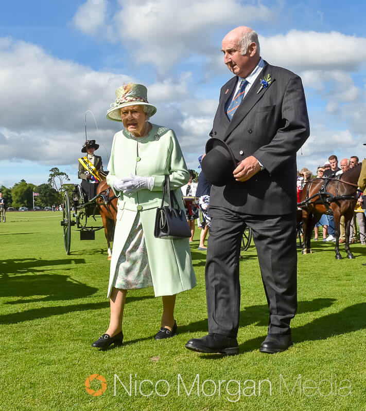 her majesty the queen at smiths lawn - Event Photography