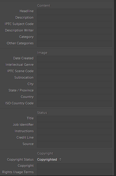 adobe lightroom content metadata - SEO for images. Are your images at the top of searches?