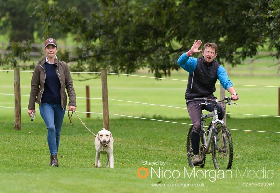 Simon Grieve on course with one of his owners.