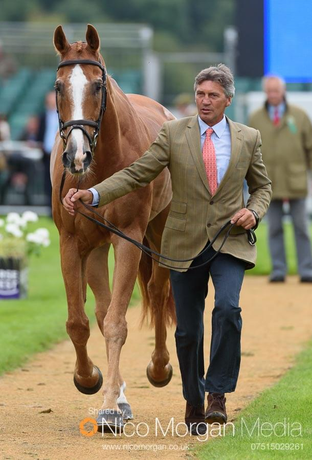 Andrew Nicholson and Nereo. Could this be their last Land Rover Burghley Horse Trials?