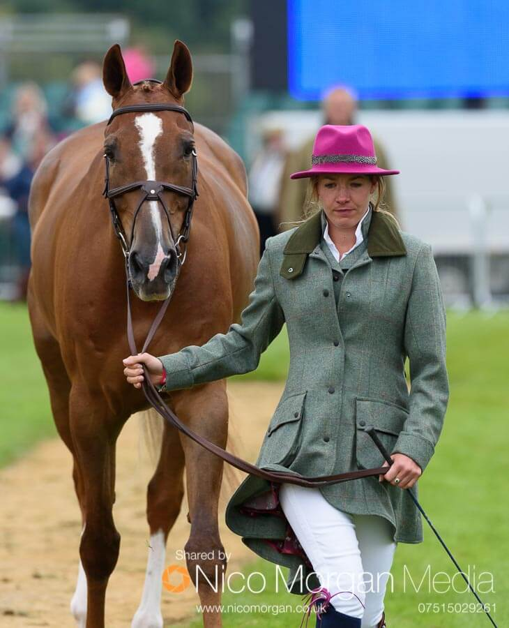 Olivia Craddock and Billy Liffy. Liv's lovely outfit was made for her by Emma Brown Tweed