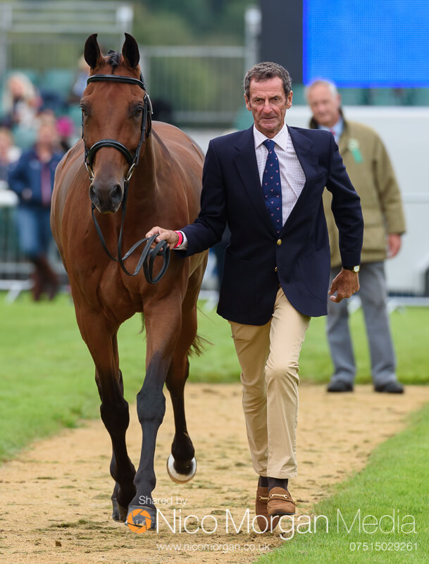 trot up wednesday land rover burghley 172 - Fairfax & Favor