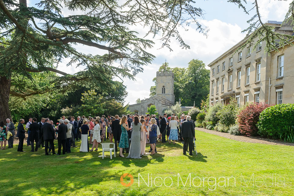Wedding at Cranford Hall, Northamptonshire