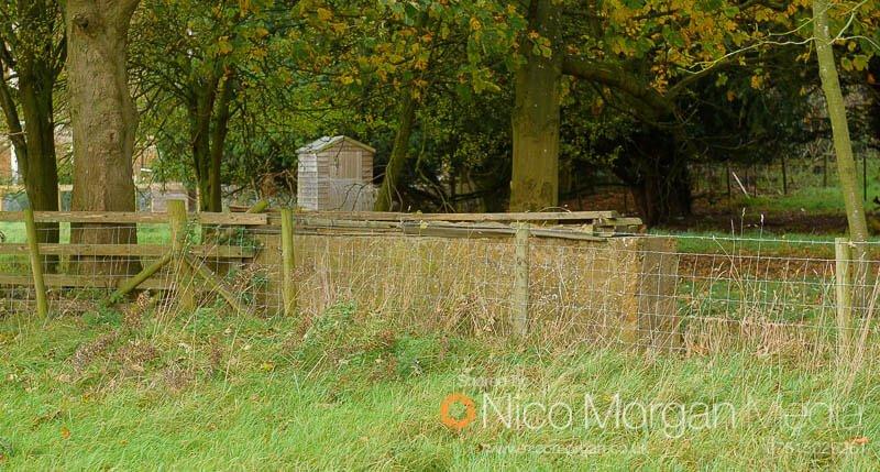 Melton Hunt Club Ride 2017: Fence 13 landing