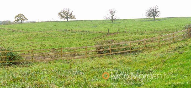 Melton Hunt Club Ride 2017: Fence 14 approach