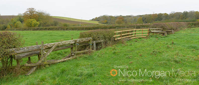 Melton Hunt Club Ride 2017: Fence 17 take-off