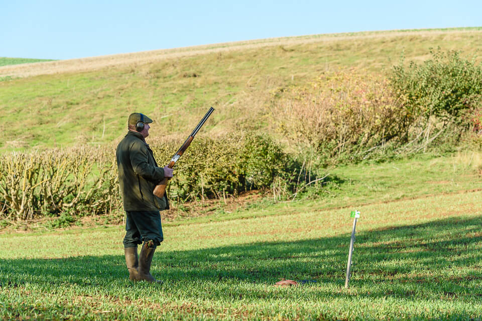 Game shooting photography for the GWCT at Woodnook