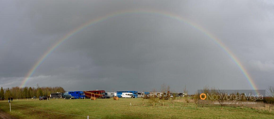 Rainbow over Oasby