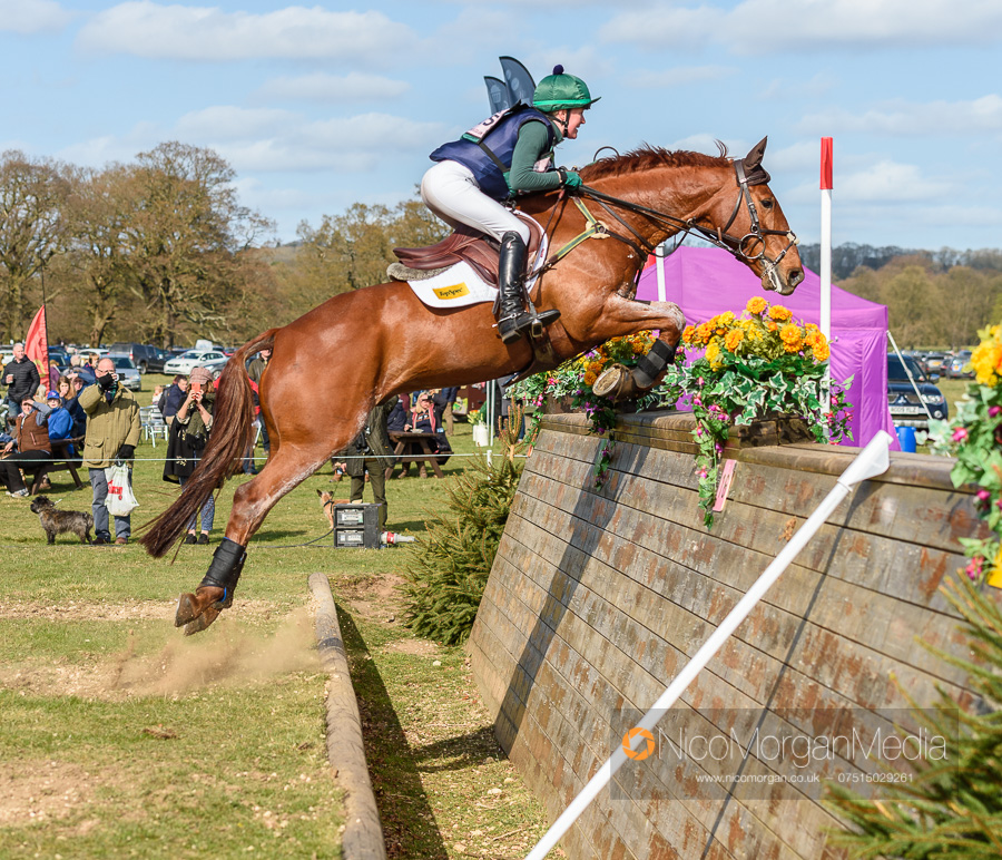 Eliza Stoddart and DICK O MALLEY. Belton International Horse Trials, Sunday 31 March 2019 © 2019 Nico Morgan. All Rights Reserved